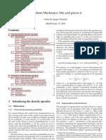Winitzki - Quantum Mechanics Notes 4
