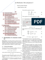 Winitzki - Quantum Mechanics Notes 3