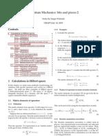 Winitzki - Quantum Mechanics Notes 2