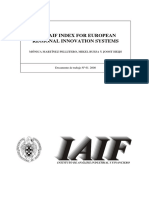 The IAIF Index for European Regional Innovation Systems
