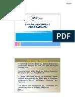 5.SME Dev Programmes