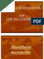 Mandibular Movements f