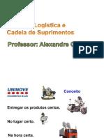 Introdução Logística e Cadeia de suprimentos