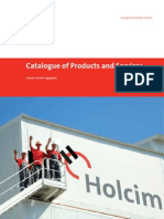 Catalogue of Products and Services