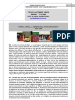 90. PRESENTACIONES DE LIBROS