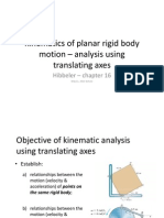 Kinematics of Planar Rigid Body Motion - May 11 Lecture