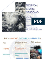 Tropical Storm Sendong - Presentation by Manila Observatory and Xavier University