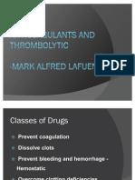 Anticoagulants Mark Lafuente