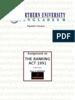 Banking Act 1991