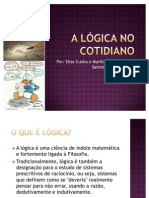 A lógica no cotidiano