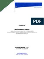 Propuesta Robotica Para Educar (Febrero 2012)