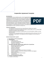 Cooperation Agreement Template JOIMAN