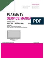 LG 42PQ2000 Plasma