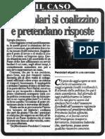 """I pendolari si coalizzino e pretendano risposte (""""La Provincia"""", 14-02-2012, p. 11)"""