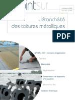 cahier CSTB 3633 _ étanchéité des toitures métalliques
