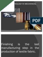 Textile Mechanical finishing (INDUS INSTITUE OF HEC KARACHI)