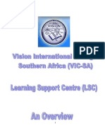 Vision Int l Lsc Overview