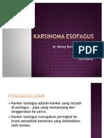 Karsinoma Esofagus