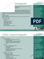 Volatility Trading and Managing Risk