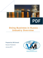 Doing Business in Russia - Research Project VM Consult