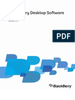 BlackBerry Desktop Software For Mac Version 2.3 User Guide