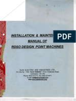 IRS Point Machine Manual