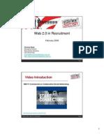 Web 2 in Recruitment