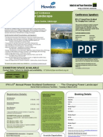 120306 - IPA Power Scotland Conference - Flyer and Booking Form v3