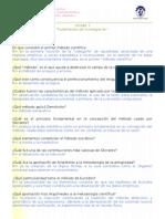 Cuestionario de Apoyo Unidad i Fundamentos de Investigacion