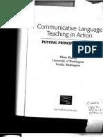Communicative Language Teaching in Action