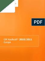Erläuterungen Kaufkraft Europa 2010