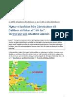 En idé för laxförvaltning i Gävlebukten, Dalälven och Testeboån.