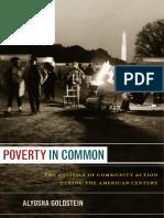 Poverty in Common by Aloysha Goldstein