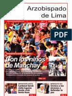 Arzobispado de Lima Enero 2012