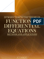 Introduction to the Theory of Functional Differential Equations Methods and Applications Contemporary Mathematics and Its Applications Book Series)