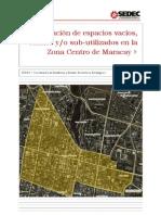 Informe para el Levantamiento de Información de espacios vacíos