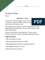 Worksheet Band6 Y2