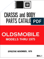 Olds Parts Numbers 1966-75 Gen Info