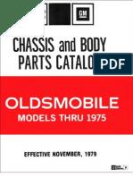 Olds Parts Numbers 1966-75 Gen Info