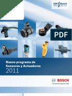 Sensores y Actuadores Bosch 2011