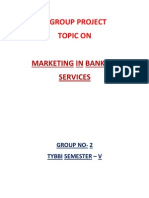 Marketing in Banking Services
