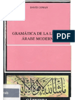 Cowan, David - Gramatica de La Lengua Arabe Moderna