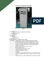 Dedicated Power Supply Electrocoagulation