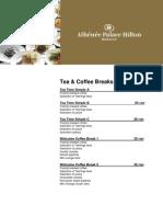Hilton Coffe Break