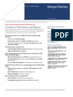 MS VIX Futs Opts Primer