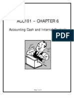 Accounting Cash & Internal Controls