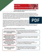 Cardin-Cochran Fact Sheet