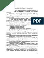 10.Interdisciplinaritate in Studiul Comunic Rii