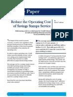 Savings Stamps White Paper