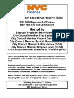 Property Tax Flyer